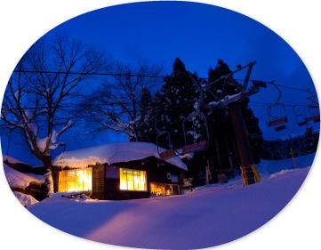 スキー場リフトのすぐ隣というベストな立地 イメージ